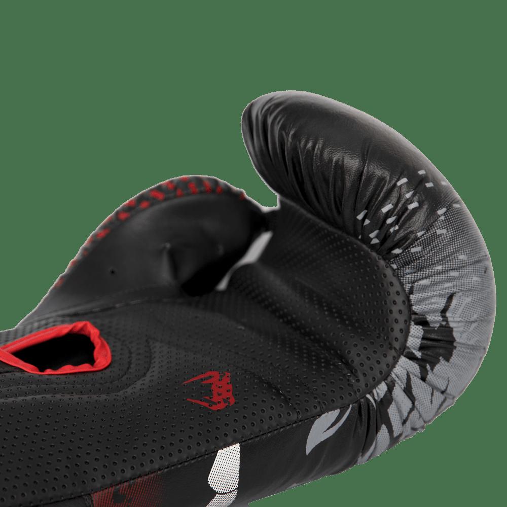 Luva de Boxe / Muay Thai 14oz - Preto e Vermelho - Lobo - Venum  - PRALUTA SHOP