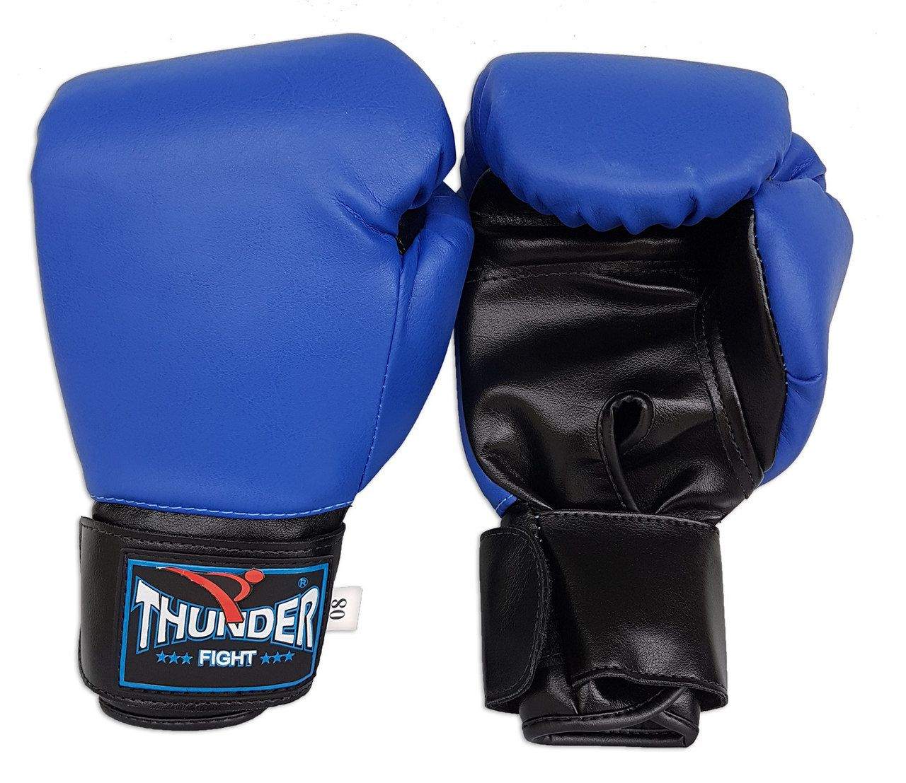 Luva de Boxe / Muay Thai 8oz - Azul - Thunder Fight  - PRALUTA SHOP