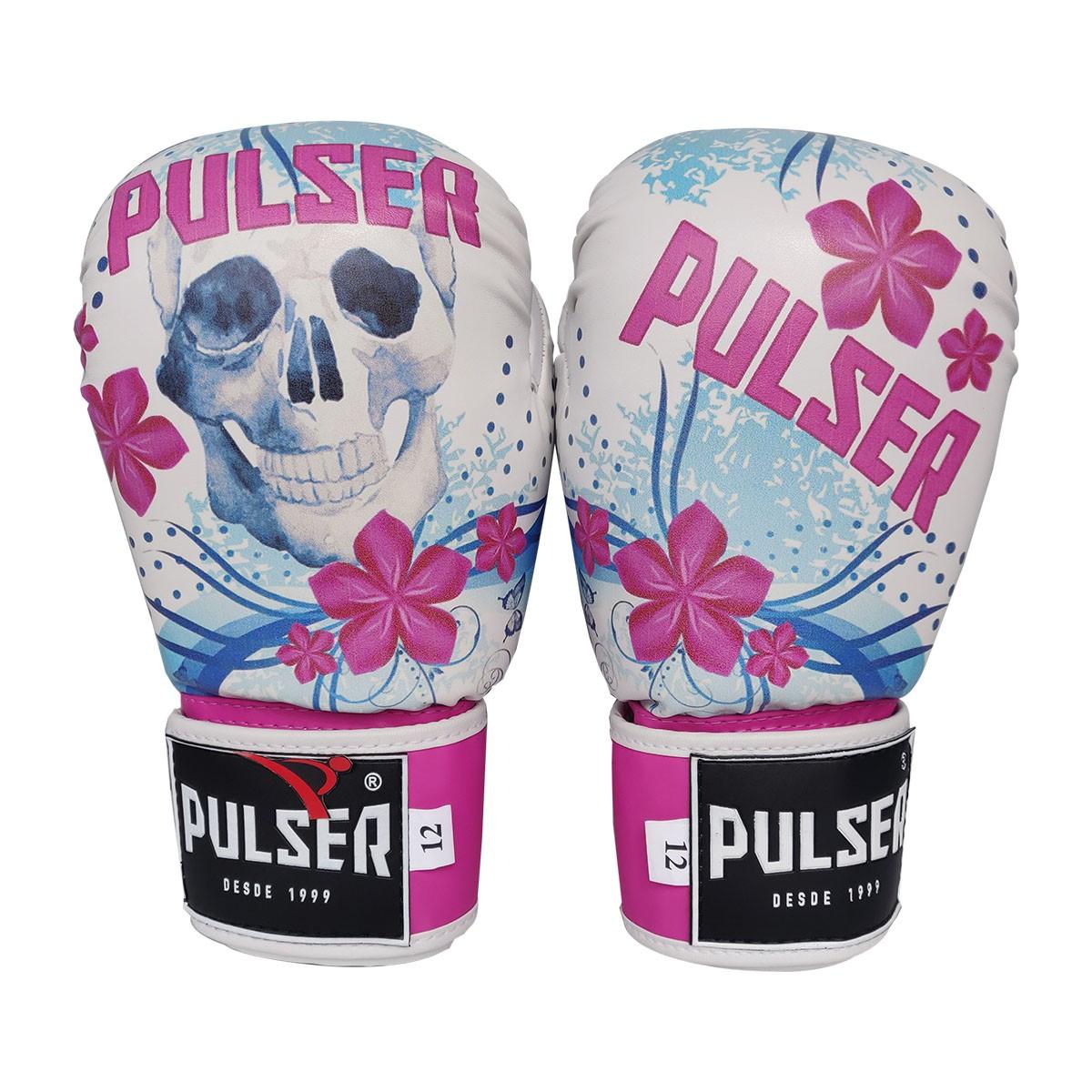 Luva de Boxe / Muay Thai Feminina 10oz PU - Pulser  - PRALUTA SHOP