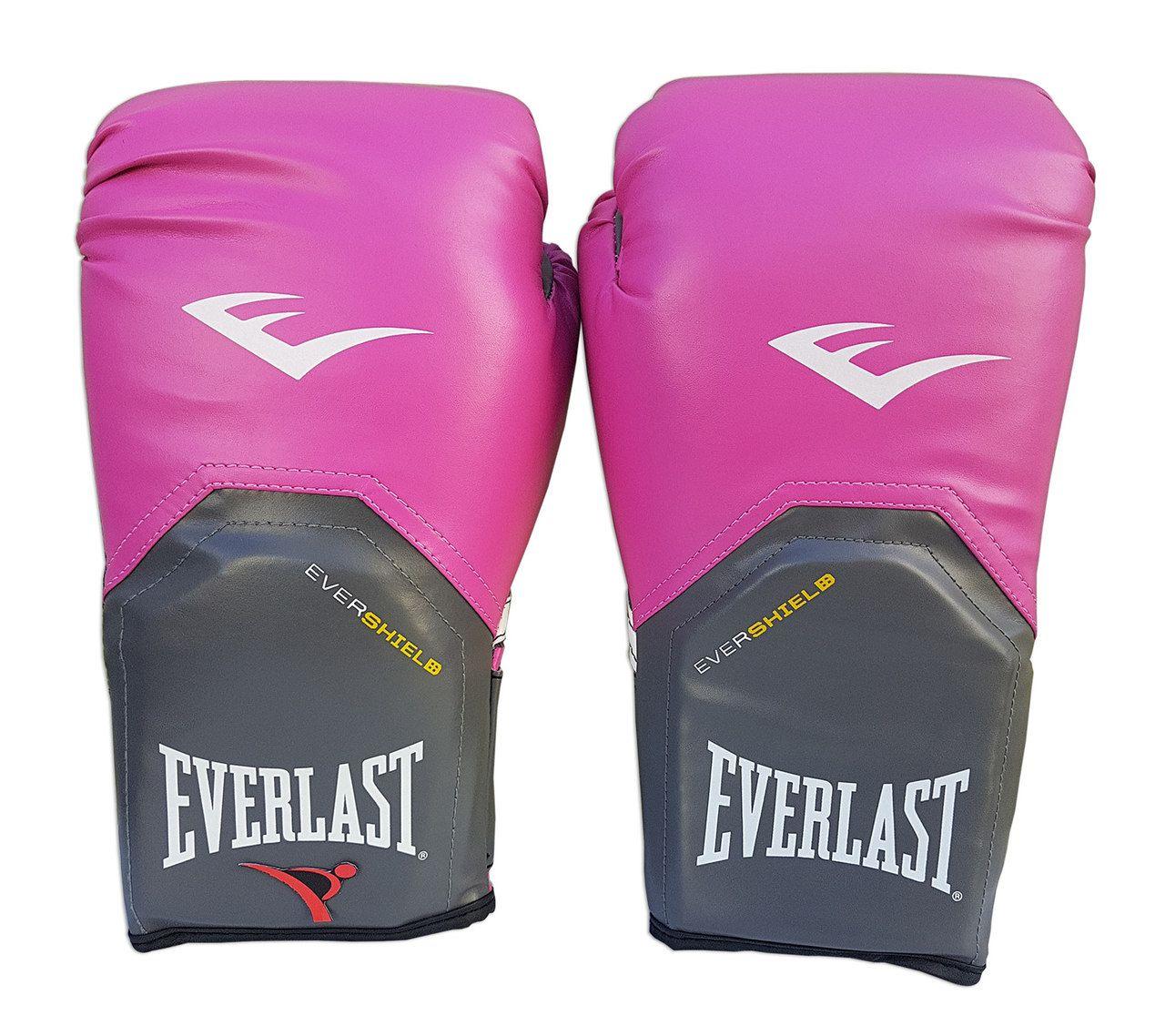 Luva de Boxe / Muay Thai Feminina 14oz - Rosa - Pro Style - Everlast  - PRALUTA SHOP