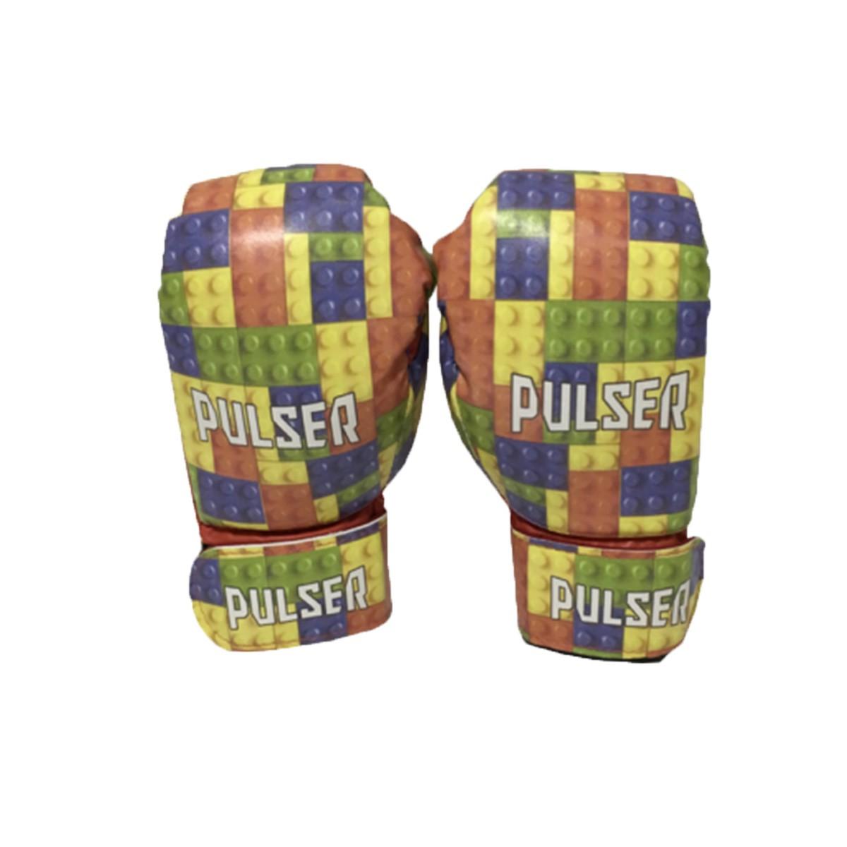 Luva de Boxe / Muay Thai Infantil 6oz - Lego - Pulser  - PRALUTA SHOP