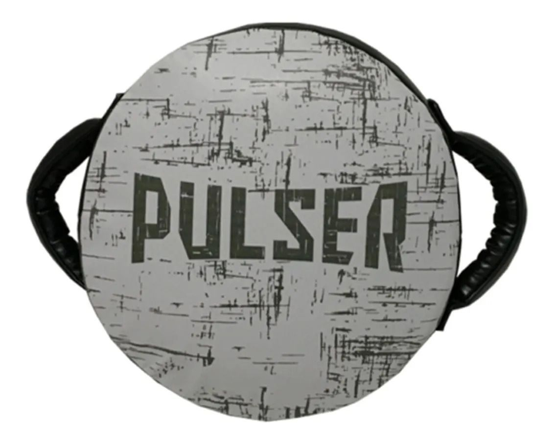 Manopla de Soco Governadora - Branco e Cinza - Pulser  - PRALUTA SHOP