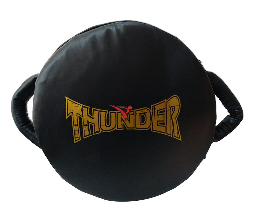 Manopla de Soco Governadora - Preto com Dourado - Thunder Fight  - PRALUTA SHOP