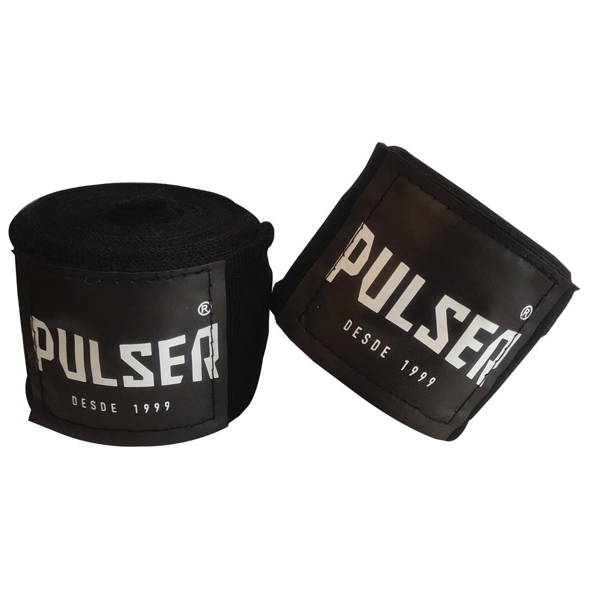 Par De Bandagem Atadura Elástica 3 Metros Muay Thai Boxe - Pulser  - PRALUTA SHOP