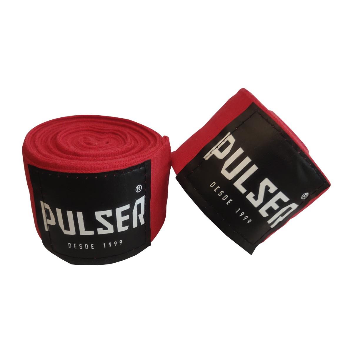 Par De Bandagem Atadura Elástica 4 Metros Muay Thai Boxe - Pulser  - PRALUTA SHOP