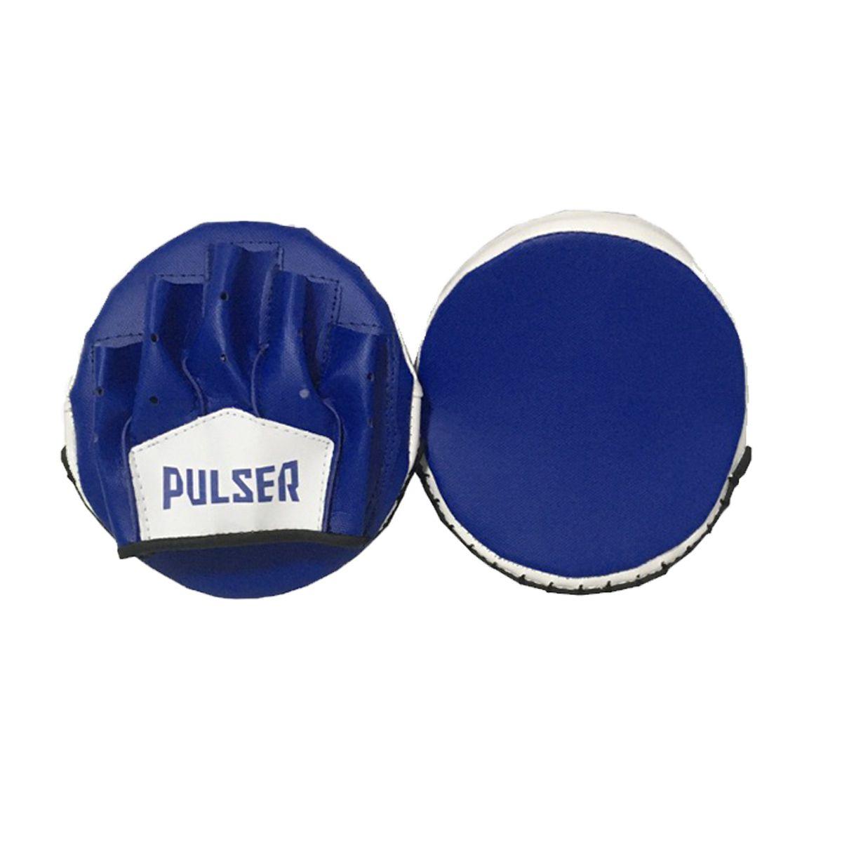 Par de Manopla Luva Foco Rápida - Azul Claro e Branco - Pulser  - PRALUTA SHOP