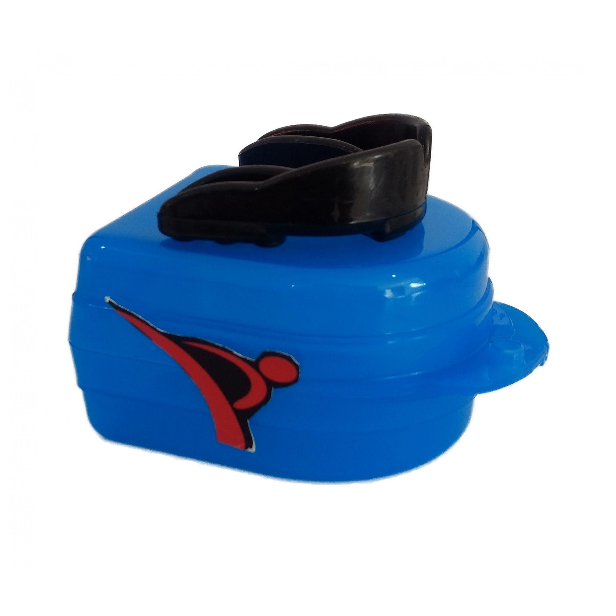 Protetor Bucal Dentes Simples Moldável Água Quente C/ Estojo Preto - Vollo  - PRALUTA SHOP