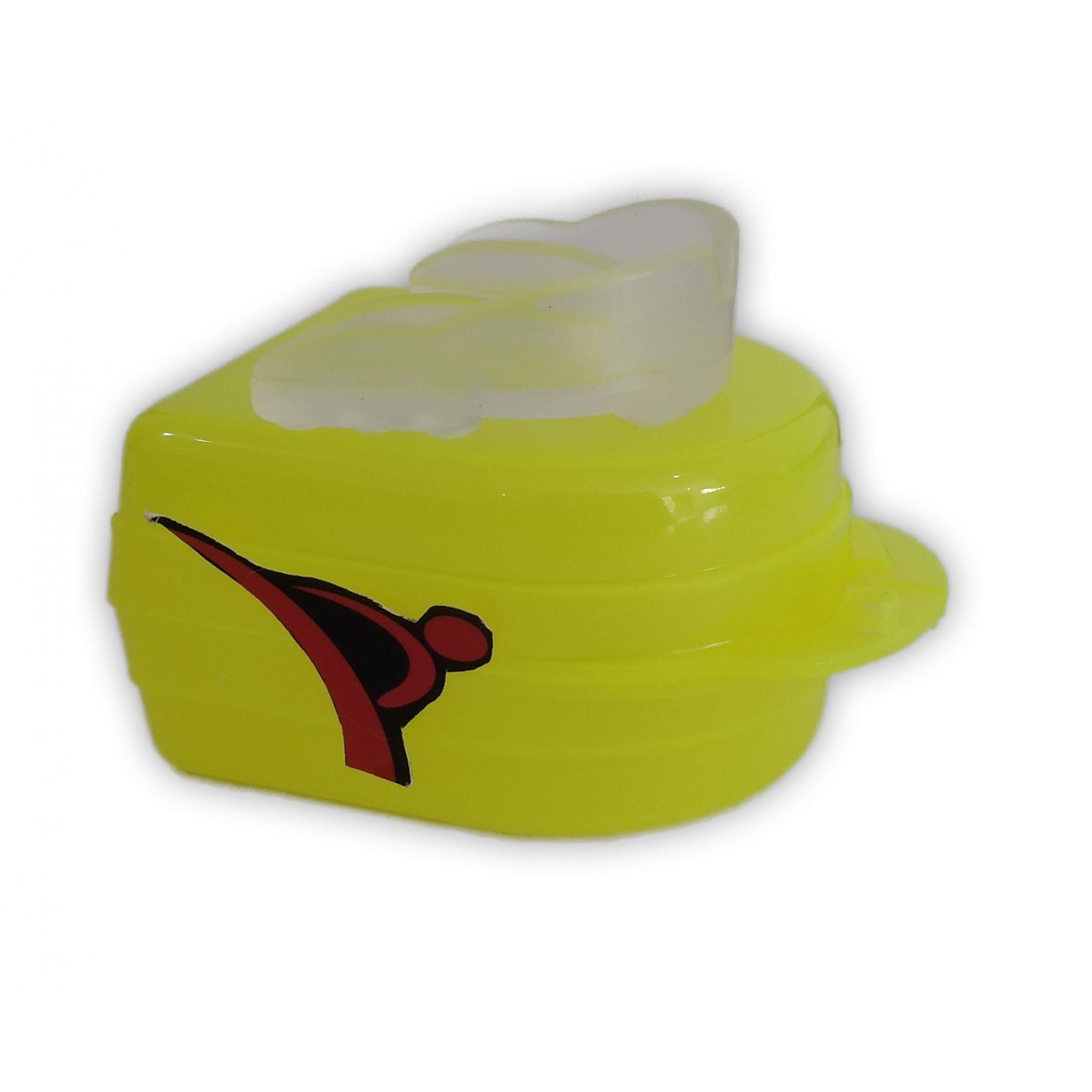 Protetor Bucal Dentes Simples Moldável Água Quente C/ Estojo Transparente - Vollo  - PRALUTA SHOP
