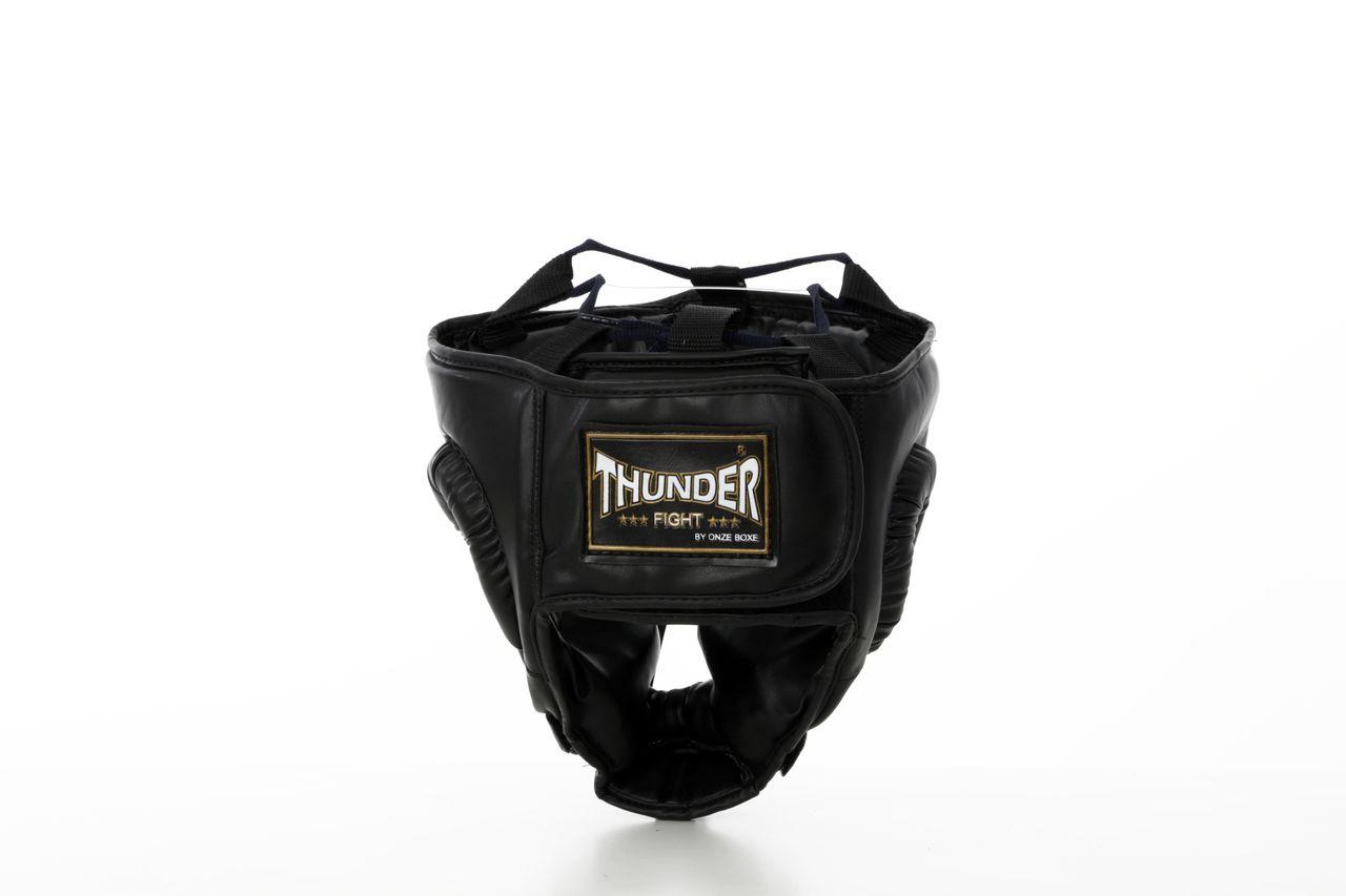 Protetor de Cabeça Capacete Treino Fechado Artes Marciais Thunder Fight  - PRALUTA SHOP