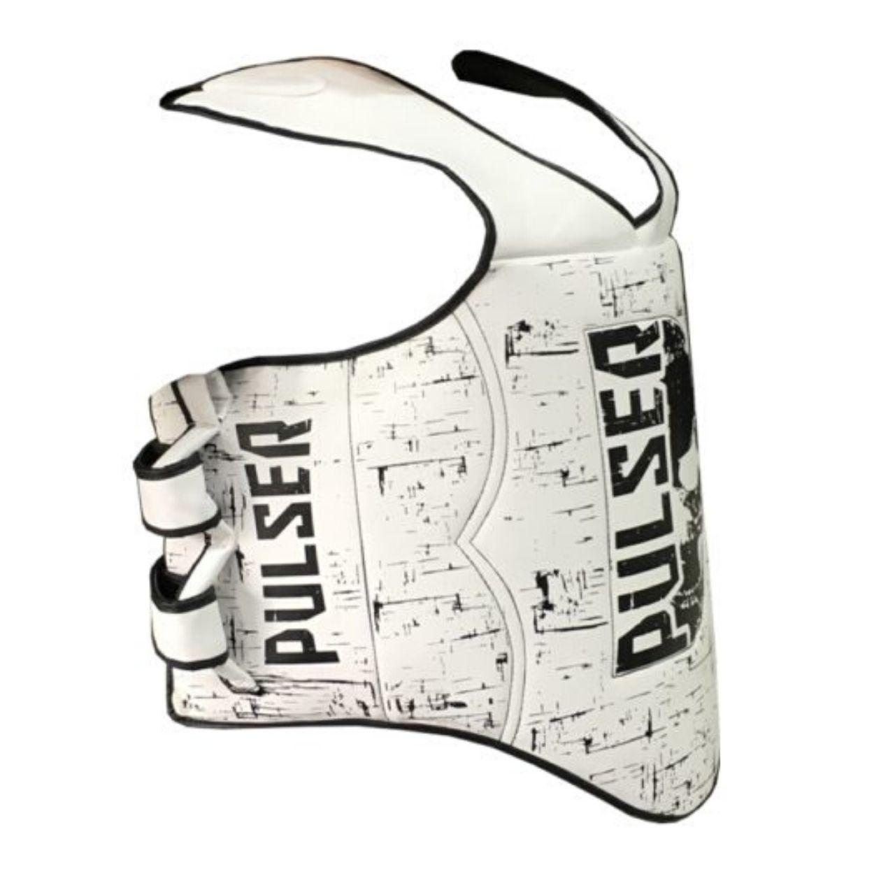 Protetor de Tórax Colete Super Reforçado Muay Thai / Boxe - Branco Caveira - Pulser  - PRALUTA SHOP