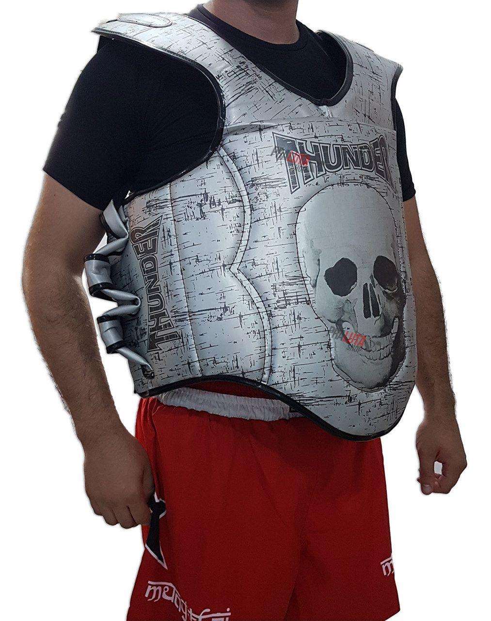 Protetor de Tórax Colete Super Reforçado Muay Thai / Boxe - Thunder Fight  - PRALUTA SHOP