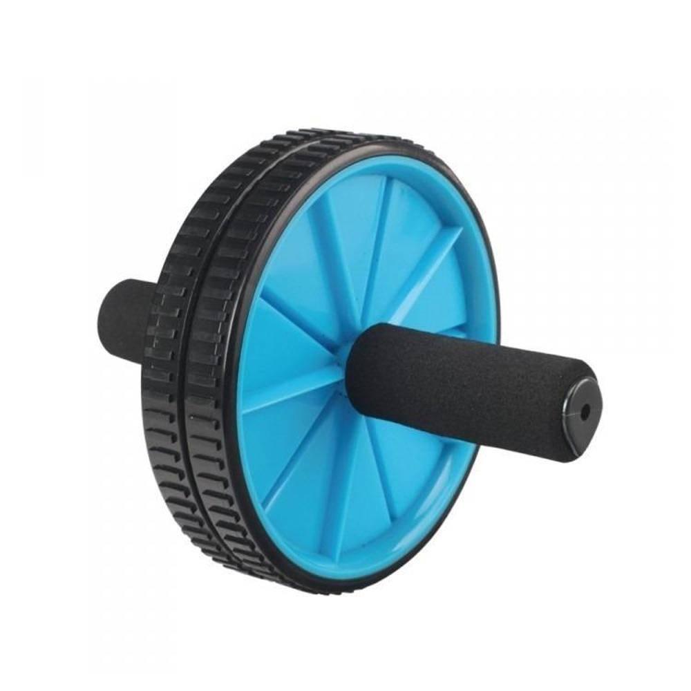 Roda Para Exercícios Abdominal Lombar Exercise Wheel - LiveUp  - PRALUTA SHOP