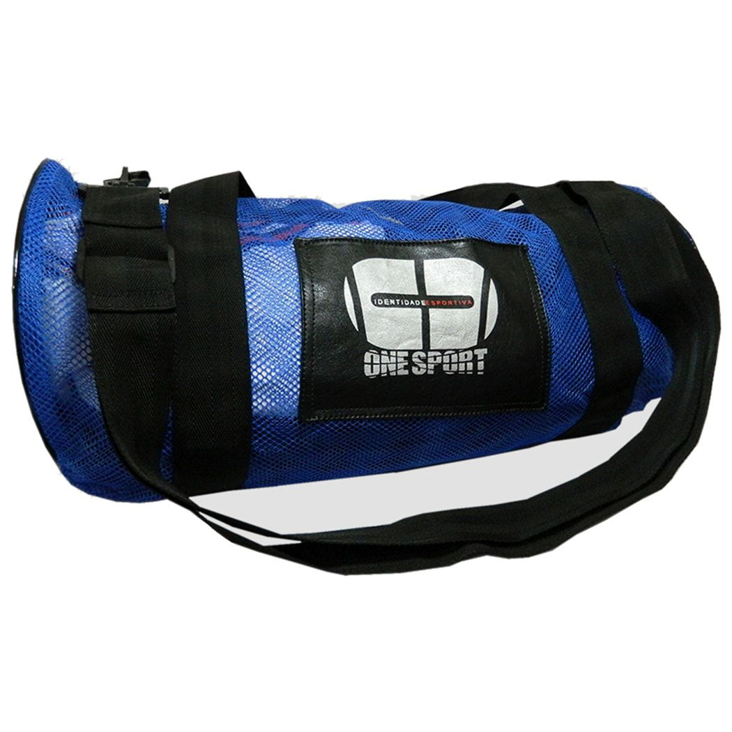 Sacola Bolsa Academia Fitness Kimono Esporte- Azul - Grande - One Sport  - PRALUTA SHOP