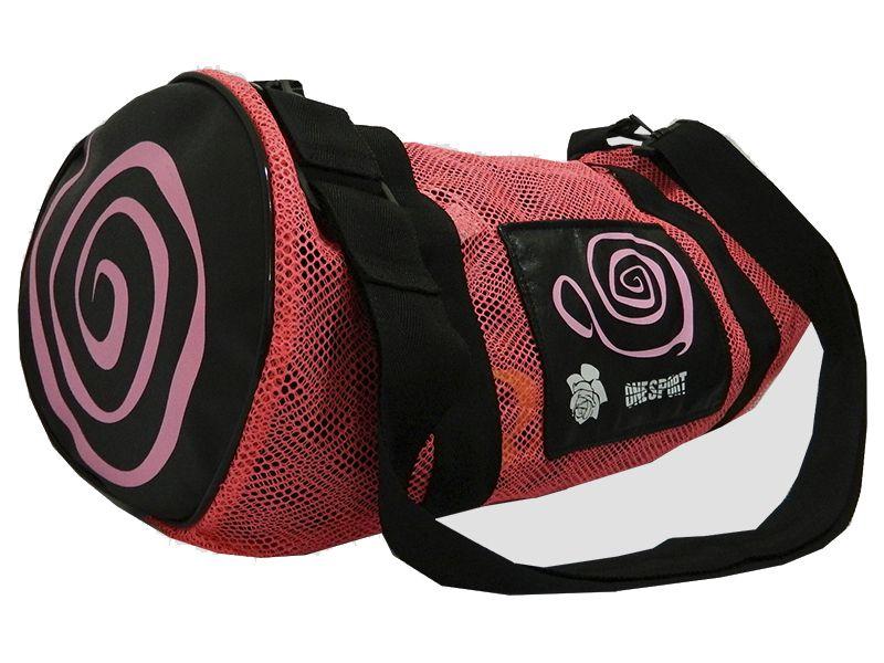 Sacola Bolsa Academia Fitness Kimono Esporte - Rosa - Grande - One Sport  - PRALUTA SHOP