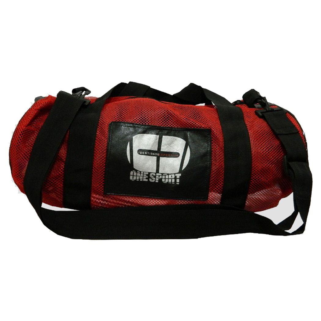 Sacola Bolsa Academia Fitness Kimono Esporte - Vermelho - Grande - One Sport  - PRALUTA SHOP