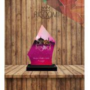 Troféu Dança 100 Personalizável - Rigdom