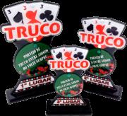 Troféu de Cartas p/ Truco, Poker, Sueca - CARTA 0106