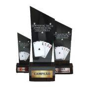 Troféu de Cartas p/ Truco, Poker, Sueca - CARTA 050
