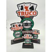 Troféu de Cartas Personalizado p/ Truco, Poker, Sueca - Rigdom