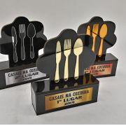 Troféu Gastronômico 010 Personalizável - Rigdom