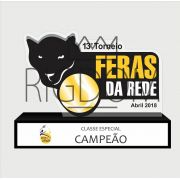 Troféu Personalizável TÊNIS 420 - Rigdom