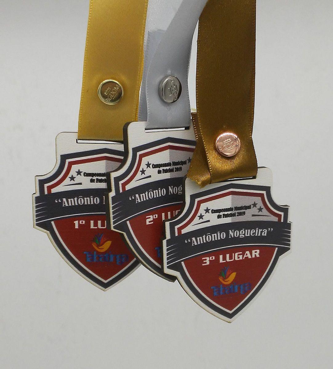 Medalhas de MDF Personalizada