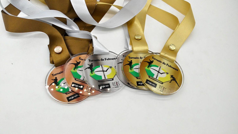 Medalhas de Acrílico Personalizada