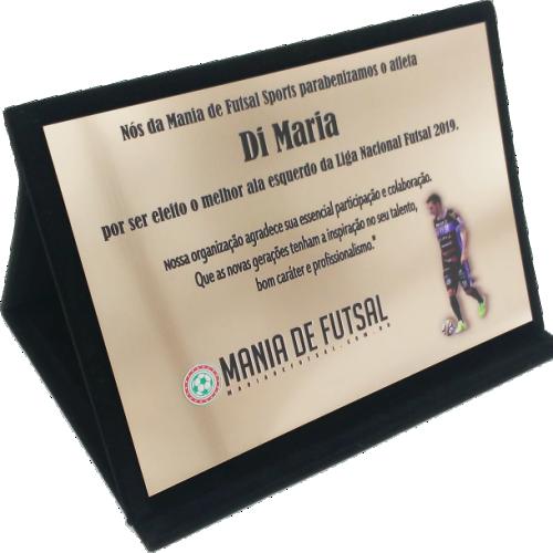 Envelope Aveludado + Placa | Rigdom