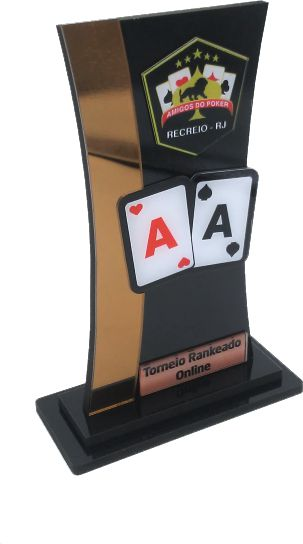 Troféu 0013 Cartas