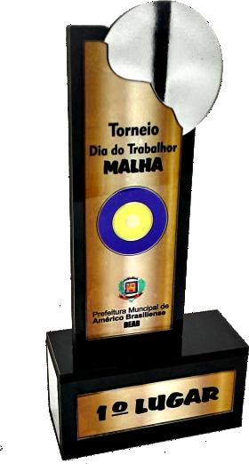 Troféu 0040 Bocha/Malha