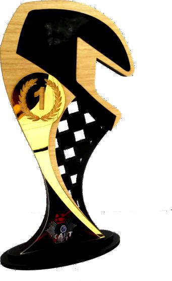 Troféu 0078 Carro - Rigdom