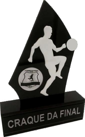 Troféu 0236 Futebol | Rigdom