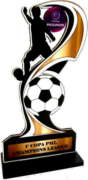 Troféu 0268 Futebol | Rigdom