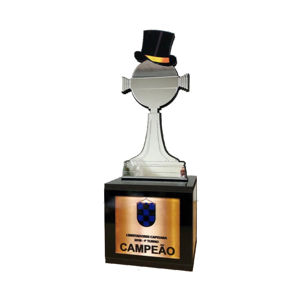 Troféu 0314 Libertadores Cartola FC | Rigdom