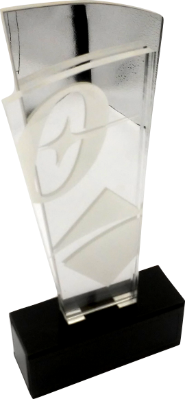 Troféu 0386 Espelhado Corp - Rigdom