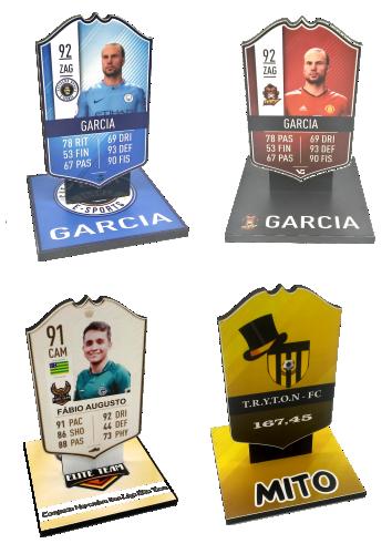 Troféu Card Fifa Games 0297 - Rigdom
