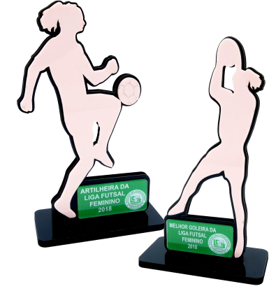Troféu 0229 Futebol | Rigdom