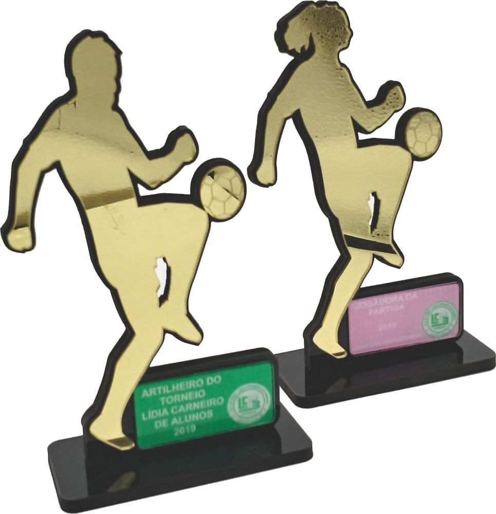 Troféu Futebol Personalizado - FUT 040