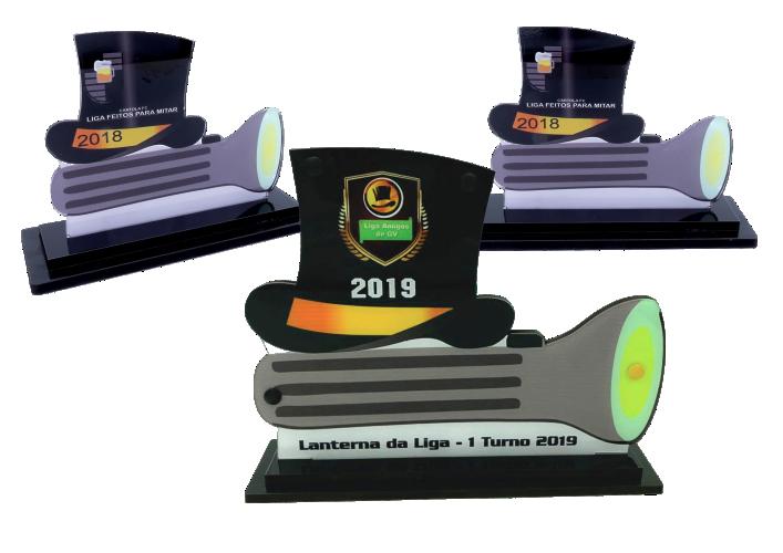Troféu Lanterna Cartola GAMES 0303 - Rigdom