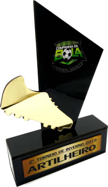 Troféu Para Premiação de Futebol - 0222