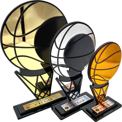 Troféu Personalizável BASQ 0010 - Rigdom