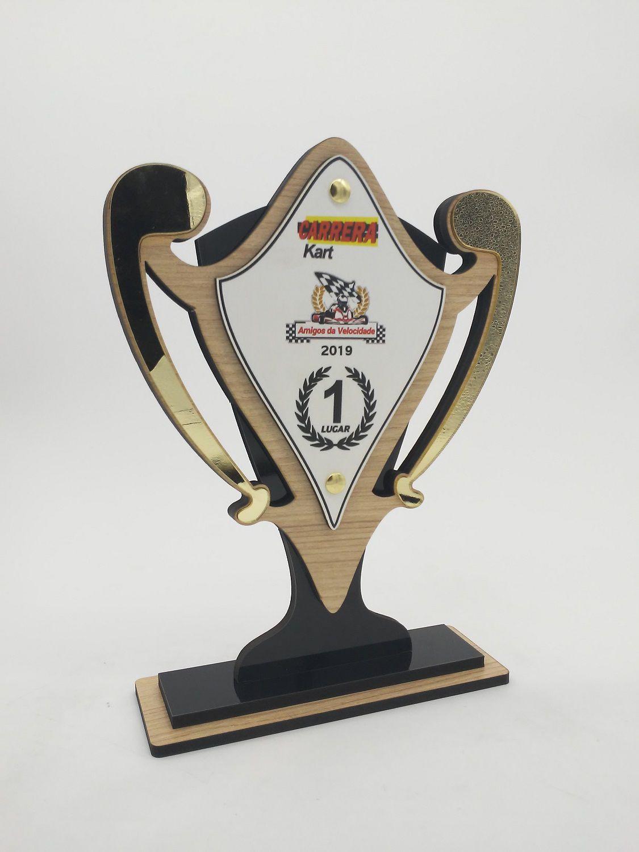 Troféu Personalizável CARRO 360 - Rigdom