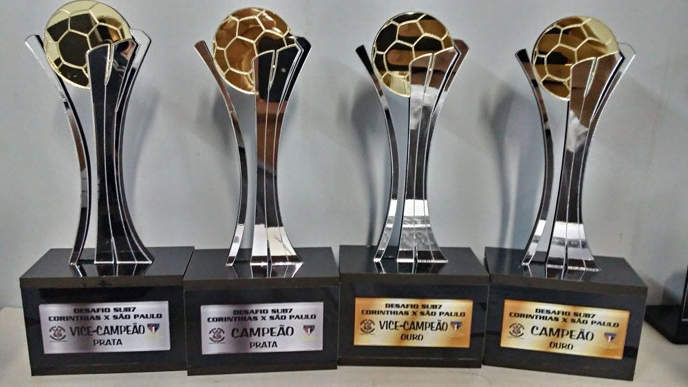 Troféu Personalizável Futebol - FUT 031
