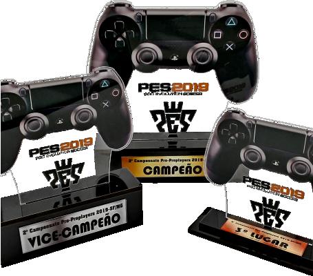 Troféu Personalizável Game 0301 - Rigdom