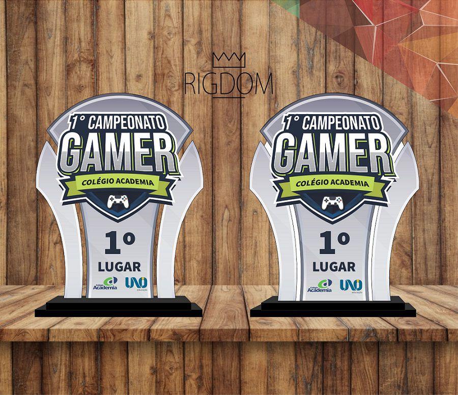 Troféu Personalizável Game 320 - Rigdom
