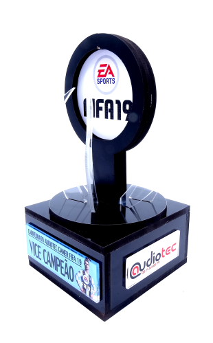Troféu Personalizável Games 0287 - Rigdom