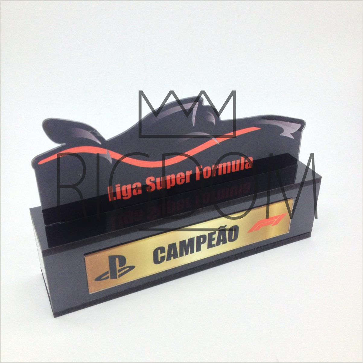 Troféu Personalizável Games 070 - Rigdom