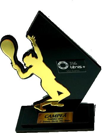Troféu Personalizável TÊNIS 0236 - Rigdom
