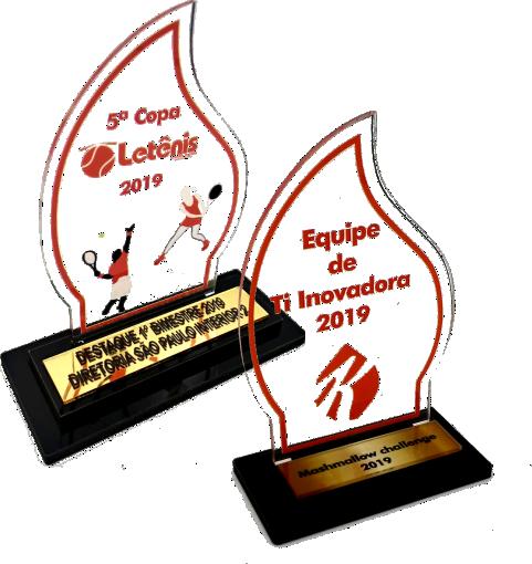 Troféu Personalizável TÊNIS 0466- Rigdom