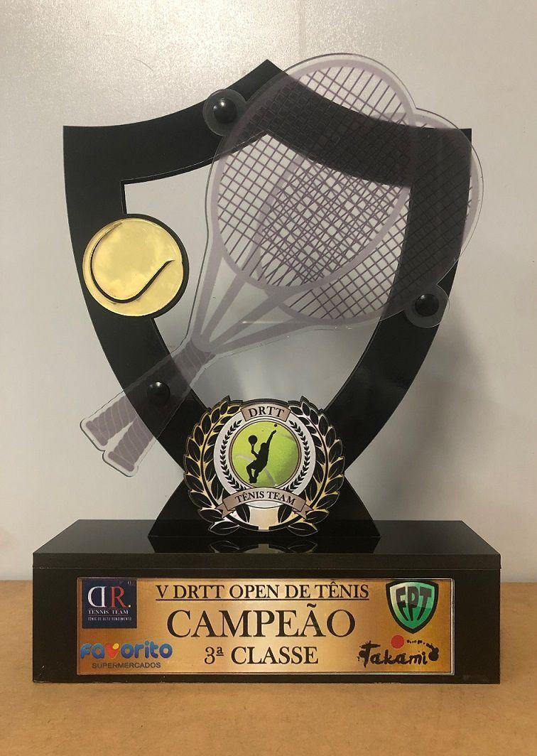 Troféu Personalizável TÊNIS 300 - Rigdom